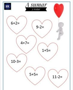 Fichas didácticas para preescolar