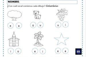 hoja didactica del abecedario para preescolar