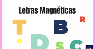 letras magnéticas