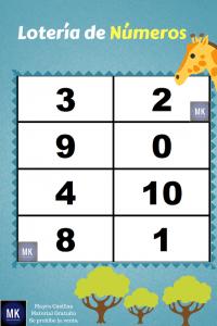 numeros de loteria para imprimir