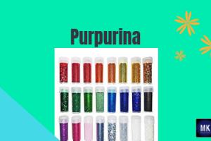 purpurina definición