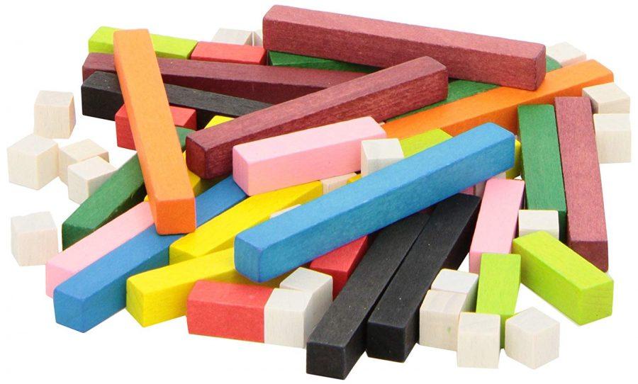 regletas de colores matemáticas