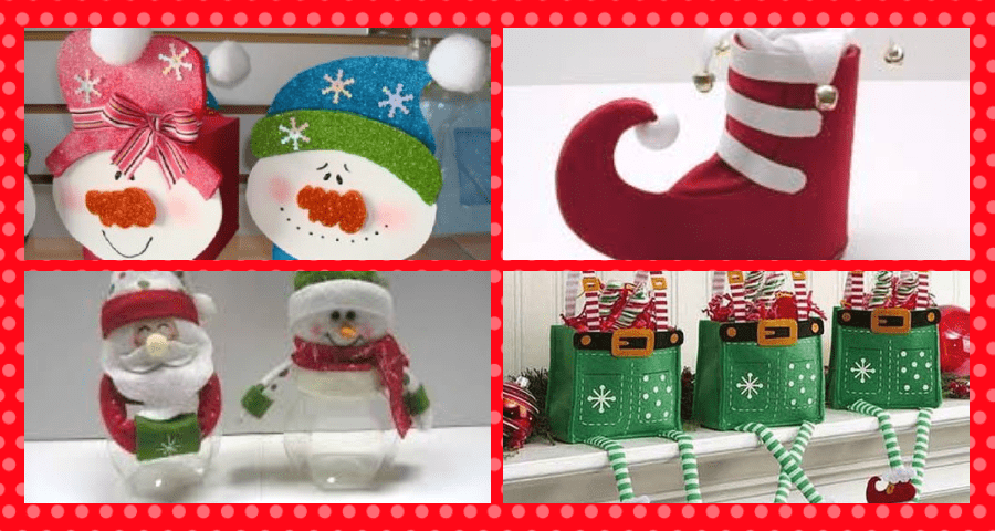 dulceros para navidad fáciles