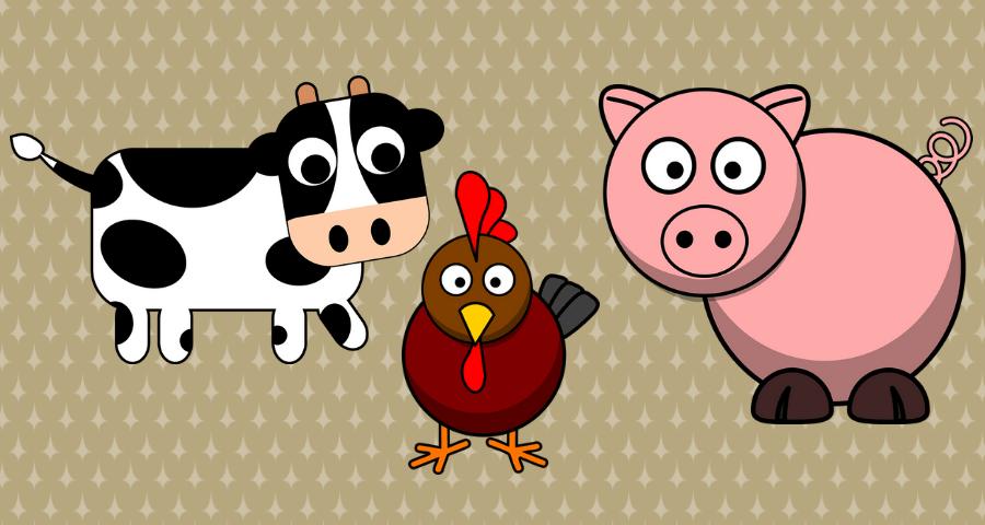 cuentos de animales cortos de la granja