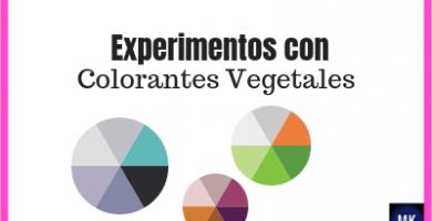 experimentos con colorantes vegetales para niños