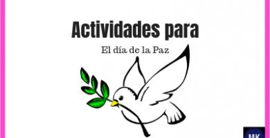 actividades para el día de la paz preescolar