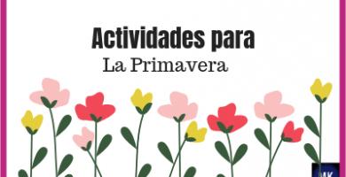 actividades para primavera