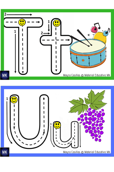 letras del alfabeto para imprimir