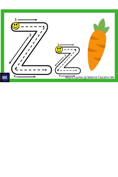 abecedario en español para niños de preescolar para imprimir