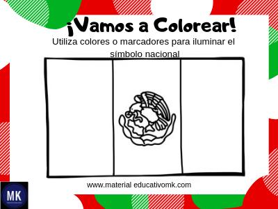 Actividades Para El Día De La Bandera Preescolar Y