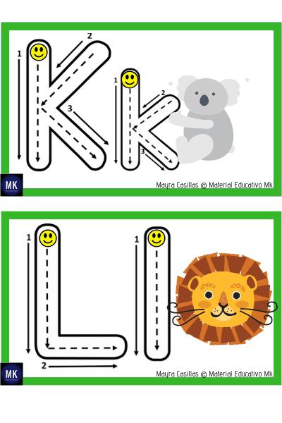 imprimir abecedario para niños