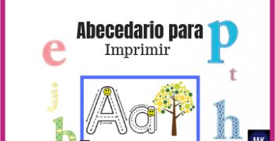 el abecedario para imprimir
