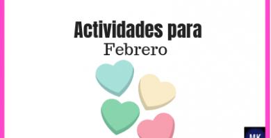 actividades para febrero preescolar
