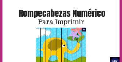 rompecabezas numéricos
