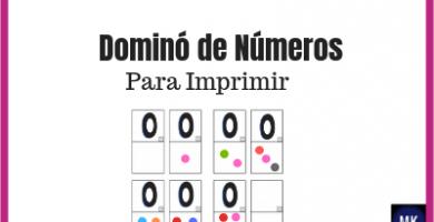 dominó de números