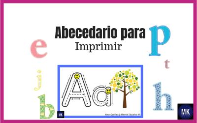 Abecedario Para Imprimir Gratis Para Preescolar Y Primaria