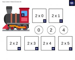 multiplicaciones para tercer grado