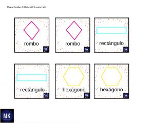 memoria figuras geometricas