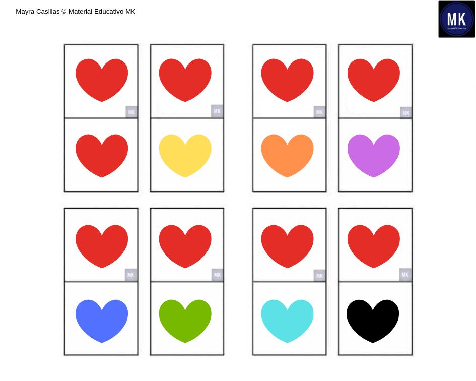 colores para imprimir para niños