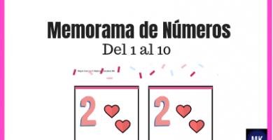 Memorama de números