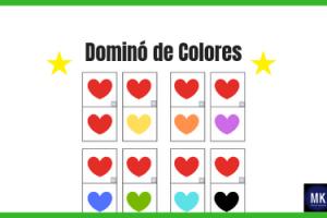 dominó de colores pdf