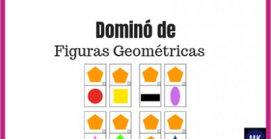 dominó de figuras geométricas