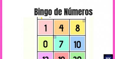 bingo de números
