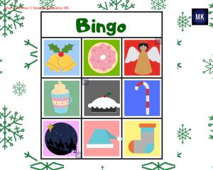 bingo de navidad imprimir