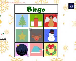 bingo de navidad pdf