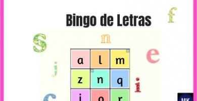bingo de letras pdf