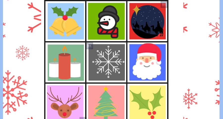 lotería navideña cartas