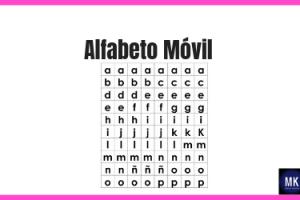 Alfabeto Móvil para imprimir pdf