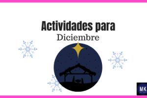 actividades divertidas para diciembre