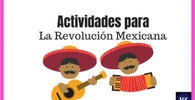manualidades para la revolución mexicana