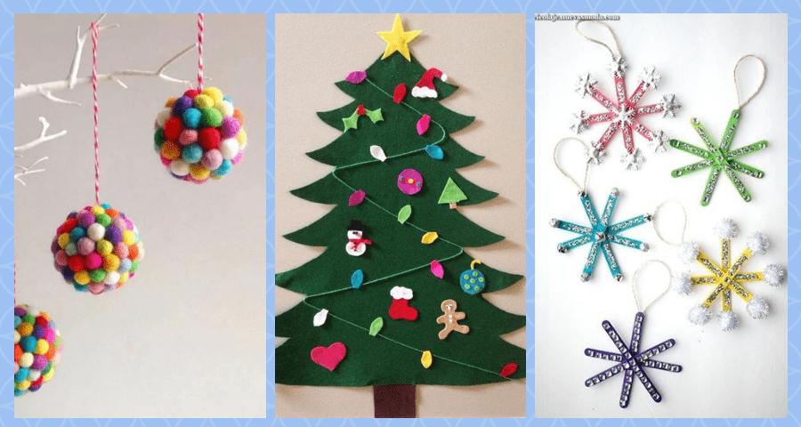 manualidades sencillas para navidad