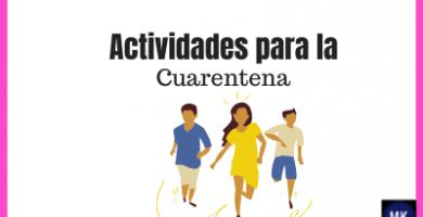 actividades para niños en cuarentena