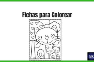 fichas para colorear gratis